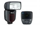 Nissin Di700A Kit Flash Cobra avec Émetteur - <p>Le kit Nissin Di700A comprend le système de flash TTL du Di700A et le Nissin Commander Air 1 NAS TTL. Le Di700A est un flash robuste haut de gamme facile à utiliser avec un nombre guide de 54 (100ISO, 200mm) et une tête zoom de 24 mm jusqu'à pas moins de 200 mm. Ce flash de haute qualité est équipé du système de flash TTL sans fil Nissin NAS (Nissin Air System) avec lequel vous pouvez commander votre flash complètement TTL jusqu'à une distance de 30 mètres en utilisant la fréquence de 2,4 GHz.</p> <p>Le Di700A avec la fonction NAS permet un emploi plus facile avec l'éclairage par flash multiple sans fil avancé de la même manière qu'avec les systèmes TTL normaux. Une fois le Di700A est connecté à l'Air 1, toutes les fonctions sont contrôlées directement par l'unité maître Air 1. Vous n'avez qu'à sélectionner le groupe correct: A, B ou C. Ainsi, le contrôle se fait entièrement par l'unité de commande Nissin Air 1.</p>