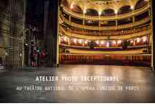 Atelier Photo à l'Opéra Comique