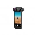 Olloclip Objectif pour iPhone - <p>Les smartphones sont de plus en plus intelligents. Et la qualité de leurs appareils photos est meilleure chaque jour. Cela modifie la façon dont nous prenons des photos. Tout le monde ne possède plus un appareil photo. Avec Olloclip, les photos réalisées avec votre iPhone sont d'un niveau supérieur. Les couleurs de vos photos et vidéos sont encore plus vivantes, les clichés plus détaillés et les angles plus surprenants. Extrêmement compacts, les objectifs étendent les possibilités de votre iPhone à celles d'un appareil photo numérique.Ils offrent des perspectives et des agrandissements de même envergure sans faire l'impasse sur la qualité. D'autre part, Olloclip ne requiert pas de sac ou poche supplémentaire : les objectifs entrent dans n'importe quelle poche de pantalon, de blouson, dans un sac ou dans la main. Récompensé, son concept permet d'attacher l'Olloclip à votre iPhone en quelques secondes. Il ne requiert aucune appli!</p>
