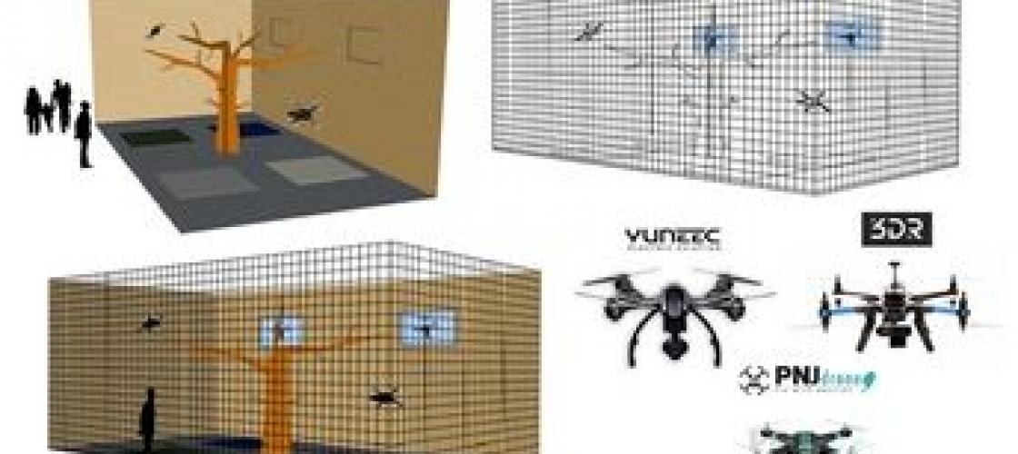 Image de synthèse de Drones